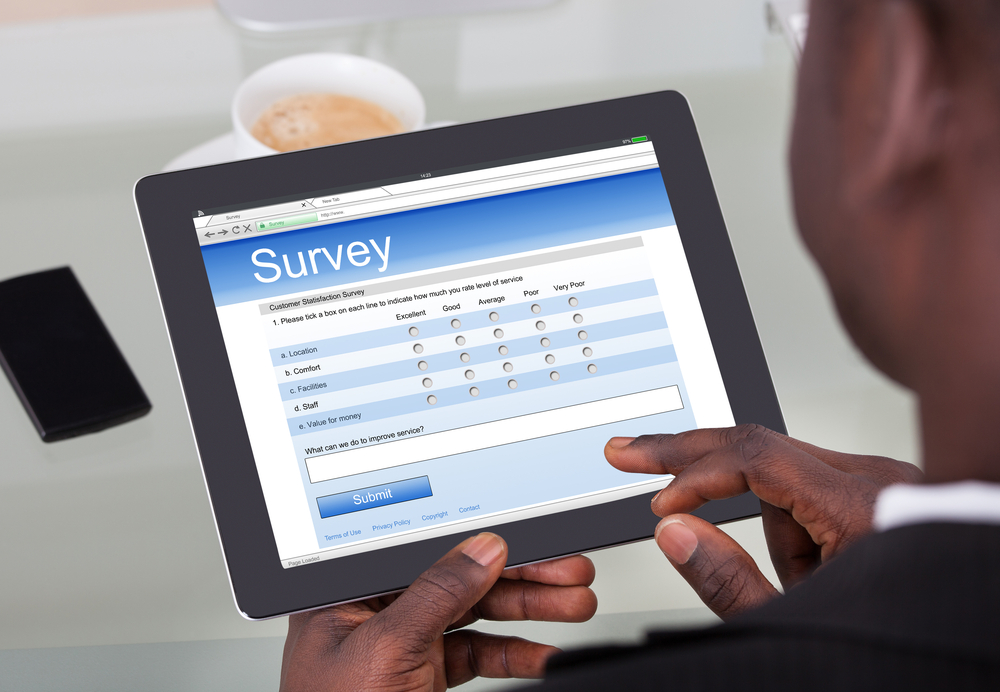 Tablet survey